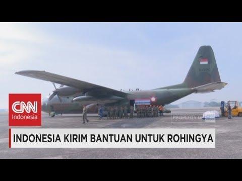 Indonesia Kirim Bantuan untuk Pengungsi Rohingya
