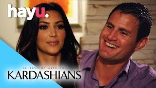 Kim's Intimate Night With Her Bodyguard | Keeping Up With The Kardashians