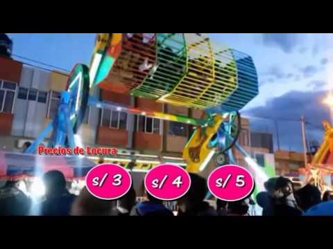 Spot Feria Que Viva El Peru Juegos Mecanicos 2015 Youtube