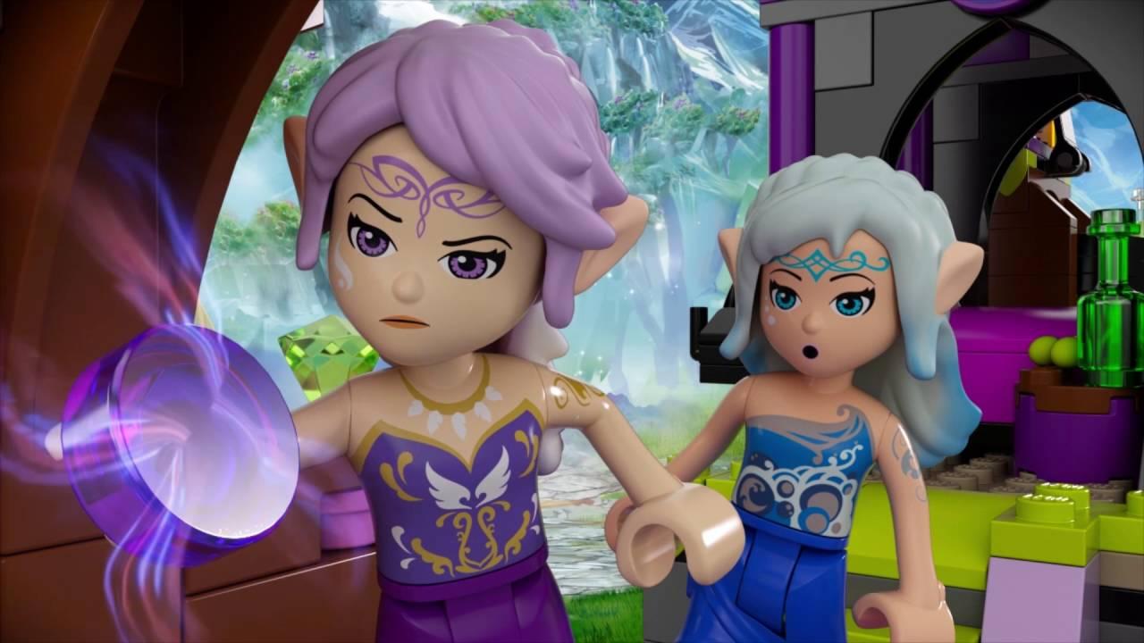Ragana S Magic Shadow Castle Lego Elves 41180 Youtube