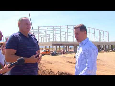 Никола Груевски во посета на индустриската зона во Петровец