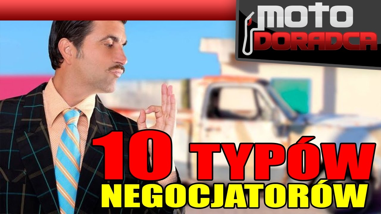 10 typów NEGOCJATORÓW #MOTODORADCA