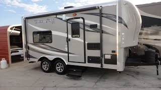 Half Ton Tow 15ft Self Contained Work And Play Toy Hauler!  2015 WPT 16UL 129