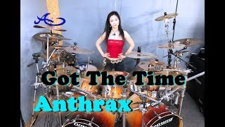 Anthrax Got The Time Drum Cover By Ami Kim 60