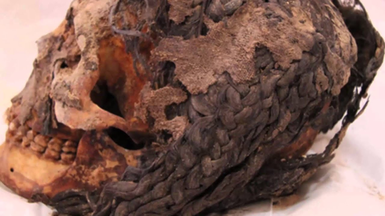 Egyptian 18th Dynasty Caucasain Braided Hair Discovered