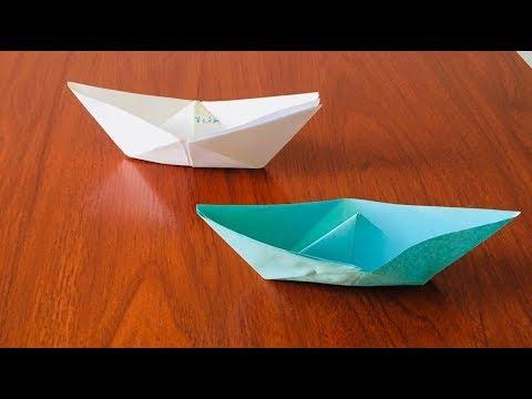DIY: Paper Ship Easy