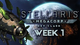 Stellaris: MegaCorp Dev Clash - Week 1 - The Subsequent Generation