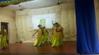 KANNA NEE THOONGADA DANCE BY ANGELINA AND TEAM