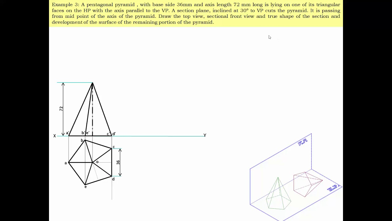 1 3 Engineering Drawing Surface Development Chapter 1 ...