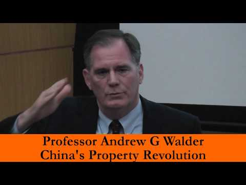 China's Property Revolution by Prof Andrew Walder update by Robin Stienberg, National Critics Choice