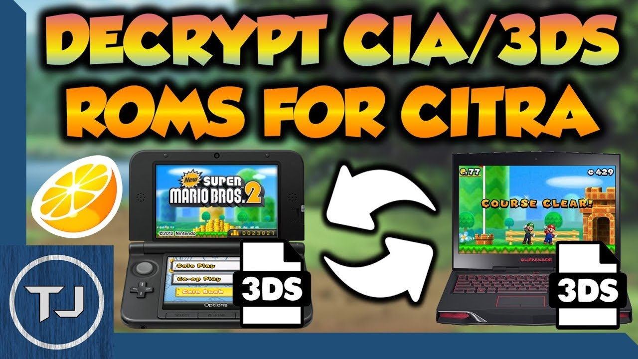 How To Decrypt 3DS/CIA ROM's For Citra Emulator! - YouTube