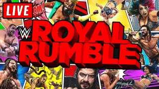 WWE Royal Rumble 2021 Live Stream Watch Along Full Show Live Reactions