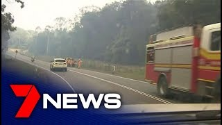 Queensland bushfires drive people from their homes | 7NEWS