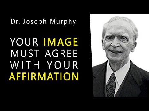 Dr. Joseph Murphy Speaks - How To Pray - Your Image Must Agree With Your Affirmation - Imagination.