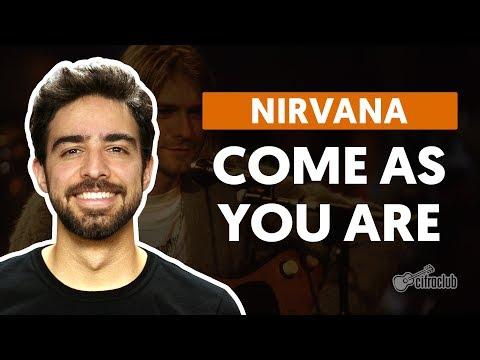 COME AS YOU ARE - Nirvana  de violão completa