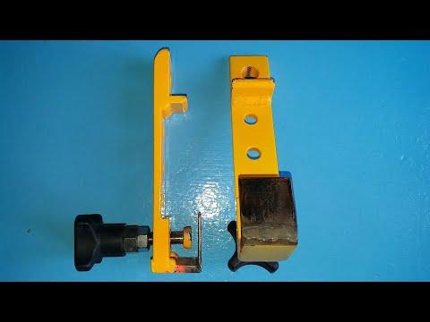 #CLAMP DIY for wood siding #เครื่องมือจับไม้ฝาผนัง