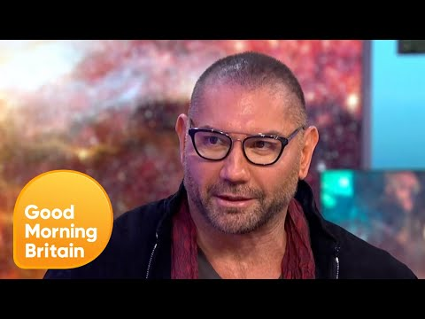 Dave Bautista Talks About Beating the Odds To Become a Professional Wrestler  Good Morning Britain