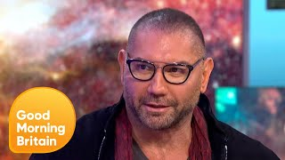 Dave Bautista Talks About Beating the Odds To Become a Professional Wrestler | Good Morning Britain streaming