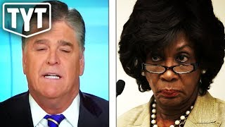 Hannity Is OBSESSED With Maxine Waters