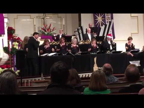 Music City Bronze & Music City Strings in concert at Brentwood United Methodist Church 12-4-2016 #3