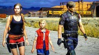 RESIDENT EVIL 2 REMAKE All Cutscenes Full Movie (Claire & Leon)