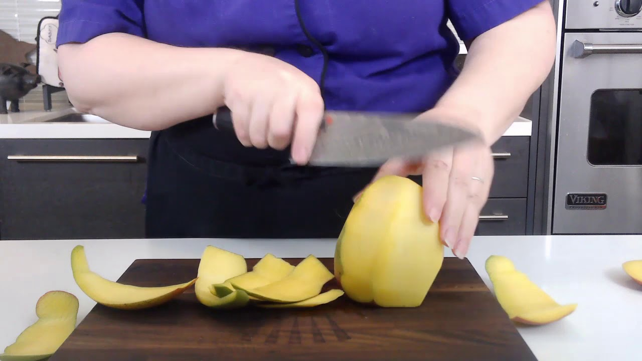 How to Peel and Slice a Mango
