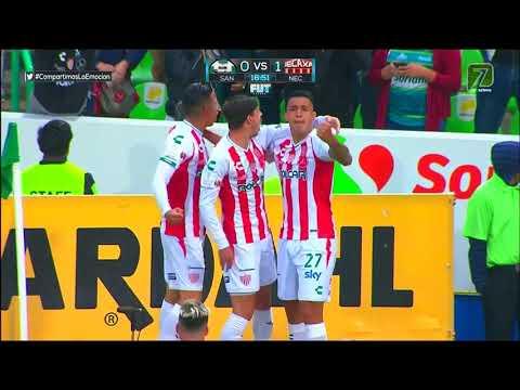 Gol de F. Castro | Santos Laguna 0 - 1 Necaxa | LIGA Bancomer MX - Clausura 2019 - Jornada 11
