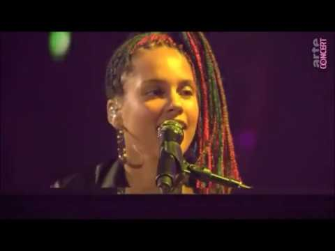 Alicia Keys - Intro & 28 Thousand Days - (Brazilian part) Live