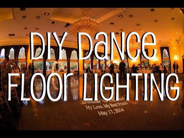 diy dance floor lighting youtube