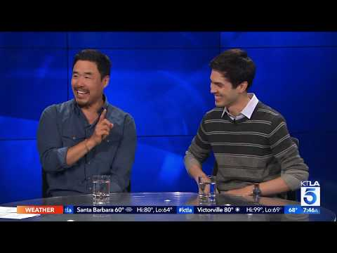 "Randall Park & James Sweeney Team Up In Outfest's Premiere Of Their Witty New Movie ""Straight Up"""