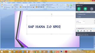 SAP HANA 2.0 training videos for beginners