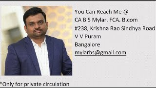 Nagesh & Mylar, Chartered Accountants