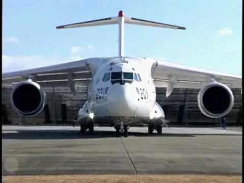 Japan JASDF Kawasaki C-2 (XC-2) First Flight - 26 January 2010