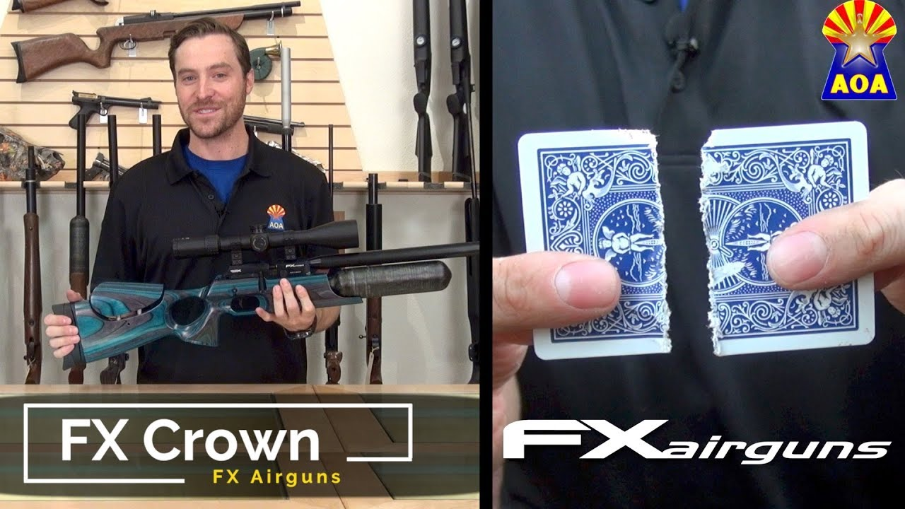 FX Crown Gray Laminate  22 Airgun