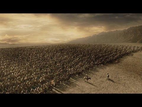 Charge du Rohan Epic Scene - Le Seigneur des anneaux : Le Retour du roi