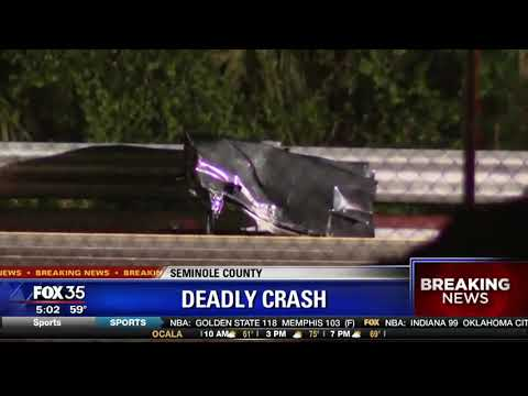 Deadly crash shuts down I-4 eastbound in Seminole County