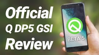 Android 10 Beta 5 Official Gsi Review  Dark Mode Everything