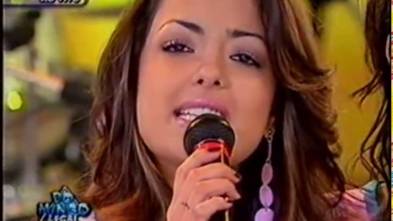 Rouge Um Anjo Veio Me Falar Programa Domingo Legal 2003 Youtube