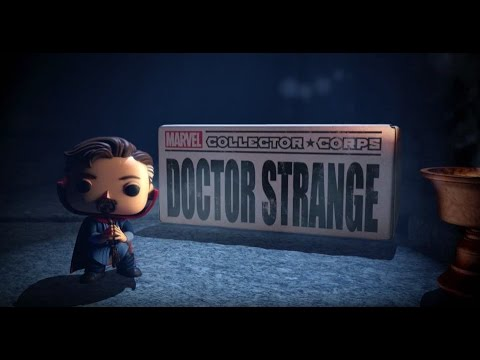 Marvel Collector Corps Doctor Strange Unboxing