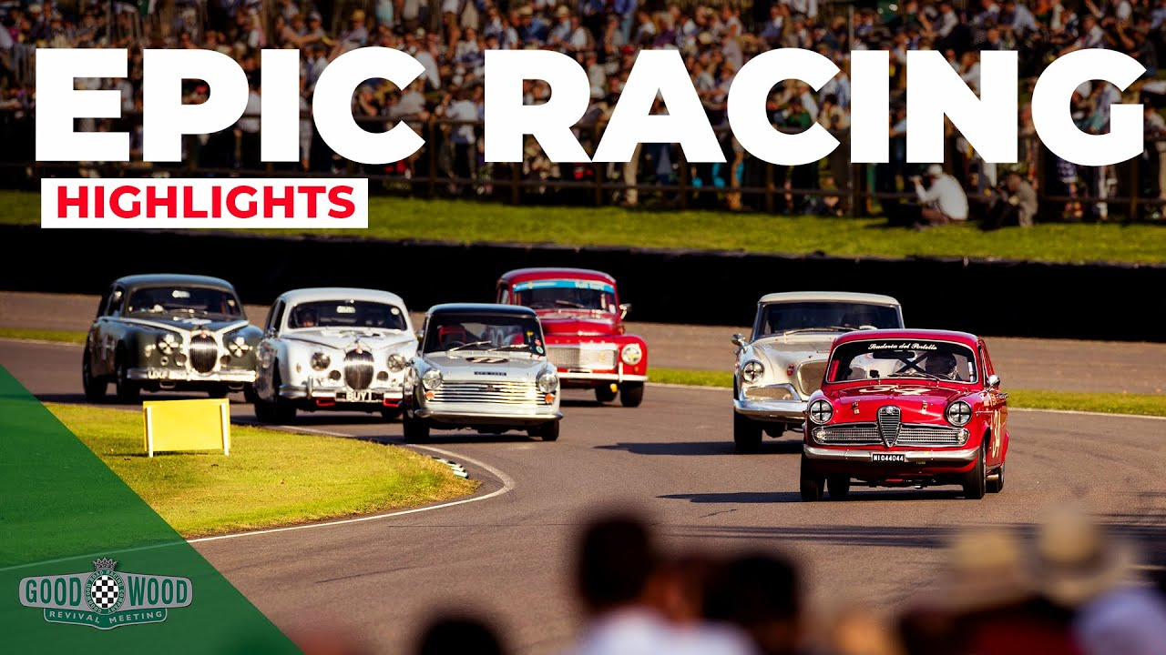 7 best racing moments from Goodwood Revival 2019