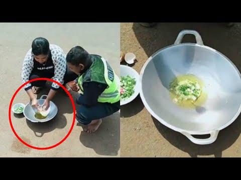 Pria usir kecoa justru hancurkan tamannya; viral video goreng telur di bawah matahari -  TomoNews