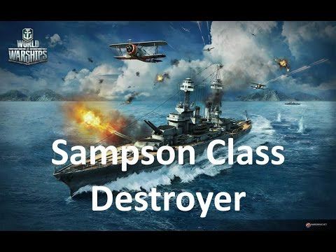 World of Warships - Sampson Destroyer Review