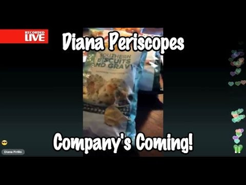 Diana Periscopes - Company's Coming!