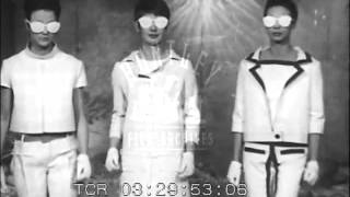 1965 predictions of Year 2000 Trends.  Archive film 93358