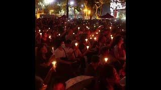 香港禁止六四烛光纪念活动港人誓言铭记天安门事件