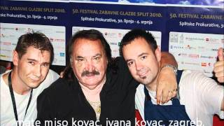 MATE MIŠO KOVAČ - Adio, sad, adio (novo na youtube-u)