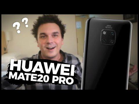 JE TOHLE JEŠTĚ TELEFON? - Huawei Mate20 Pro