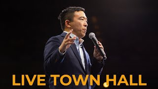 Andrew Yang at Dubuque Town Hall - Live Stream