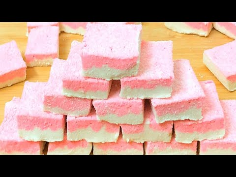 Marshmallow Recipe Without Corn Syrup | Homemade Marshmallow Recipe | How To Make Marshmallow Candy