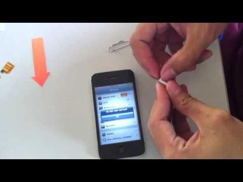 วิธีใช้ x-sim unlock iphone 4